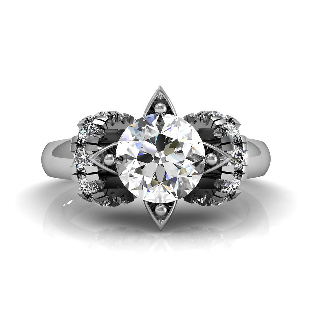 Shop White Sapphire Rings CTA